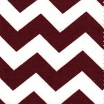 Maroon and White Fabric