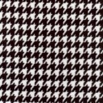 Houndstooth Corduroy Fabric - Black | Houndstooth Fabric