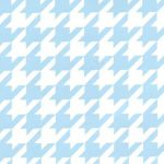 Large Houndstooth Fabric