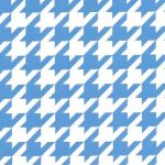 Large Houndstooth Fabric: Blue | Wholesale Houndstooth Fabric