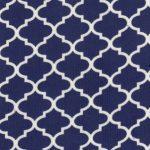 Royal Quatrefoil Fabric | Cotton Corduroy Fabric - Prnt CD52