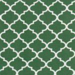Hunter Green Quatrefoil Fabric | Quatrefoil Fabric | Corduroy