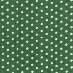 Polka Dot Corduroy Fabric- Hunter Green | Printed Corduroy Fabric