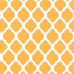 Gold Quatrefoil Fabric | Quatrefoil Fabric | Wholesale Fabric - Print #1729
