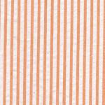 Orange Seersucker Fabric - #25 | Striped Seersucker Fabric - Orange