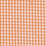 Orange Seersucker Fabric | Seersucker Check Fabric - Orange