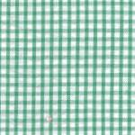Green Seersucker Fabric: Check | Seersucker Check Fabric