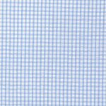 Blue Seersucker Fabric | Seersucker Check Fabric - Blue