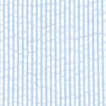 "Blue Striped Seersucker Fabric: 1/16"" | Cotton Seersucker Fabric"