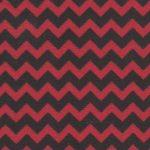 Red and Black Chevron Fabric | Black Chevron Fabric - Print #1461