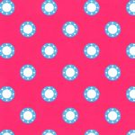 Pink and Blue Fabric
