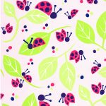 Ladybug Fabric | Wholesale Cotton Fabric - Print 1812