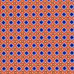 Blue Geometric Fabric | Geometric Fabric - Print #1827