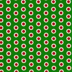 Christmas Dot Fabric | Christmas Fabric - Print 1857