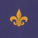 Embroidered Twill Fabric