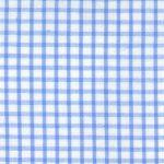 Windowpane Check Fabric - Blue Seersucker - WS23