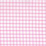 Windpowpane Check Fabric - Pink Seersucker - WS24