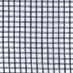 Windowpane Check Fabric - Navy Seersucker - WS25