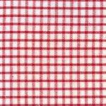 Windowpane Check Fabric - Red - Seersucker Fabric - WS26