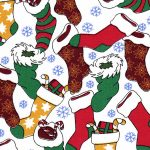 Christmas Stocking Fabric - #1894   Christmas Fabric Wholesale