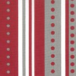Red and Grey Stripes/Dots