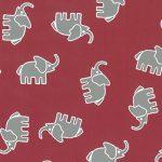 Grey Elephant Fabric