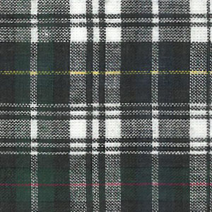 Madras Plaid Fabric - Green, Blue, and Black | Madras Fabric Wholesale