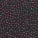 Navy Blue and Red Polka Dot Fabric - 100% Cotton | Polka Dots Fabric Wholesale