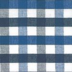 Royal Blue and Navy Plaid Fabric