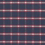 Red and Navy Plaid Fabric - 100% Cotton | Plaid Fabric Wholesale