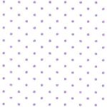 Purple and White Polka Dot Fabric: 100% Cotton | Polka Dots Fabric Wholesale
