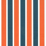Orange and Blue Striped Fabric | Wholesale Stripe Fabric