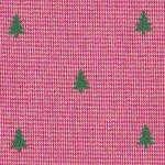 Christmas Tree Fabric: Red Micro Check Fabric | Christmas Fabric