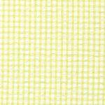 Green Seersucker Fabric | Seersucker Check Fabric - Chartreuse Green