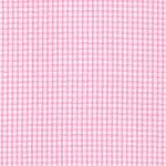 Seersucker Check Fabric - Bubblegum Pink | Pink Seersucker Fabric