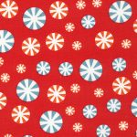 Peppermint Candy Fabric | Candy Print Fabric | Christmas Fabric