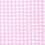 Seersucker Check Fabric - Pink | Pink Seersucker Fabric