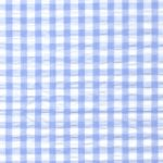 Seersucker Check Fabric - Blue | Blue Seersucker Fabric