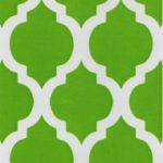 Green Quatrefoil Fabric | Quatrefoil Fabric | Wholesale Fabric - Print #1412