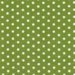 Polka Dot Corduroy Fabric - Lime | Green Corduroy Fabric