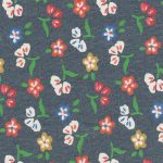 Floral Denim Fabric - Wholesale Denim Fabric