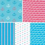 Nautical Themed Fabric - Coordinating Prints