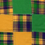 Patchwork Fabric #62 | Mardi Gras Fabric | Patchwork Fabrics