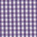 "Grape Purple Gingham Fabric - 1/8"" Check 