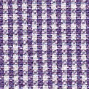 "Grape Purple Gingham Fabric - 1/8"" Check | Wholesale Gingham Fabric"
