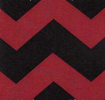 Red and Black Chevron Fabric | Red Chevron Fabric - Print #1483