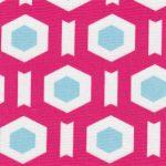 Pink Geometric Fabric | Geometric Fabrics - Print #1714