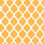 Gold Quatrefoil Fabric | Quatrefoil Fabric | Wholesale Fabric - Print #1729