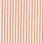 Orange Seersucker Fabric - #25 | Striped Seersucker Fabric - Orange