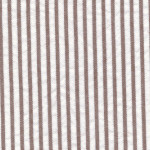 Brown Seersucker Fabric | Striped Seersucker Fabric - Choc. Brown